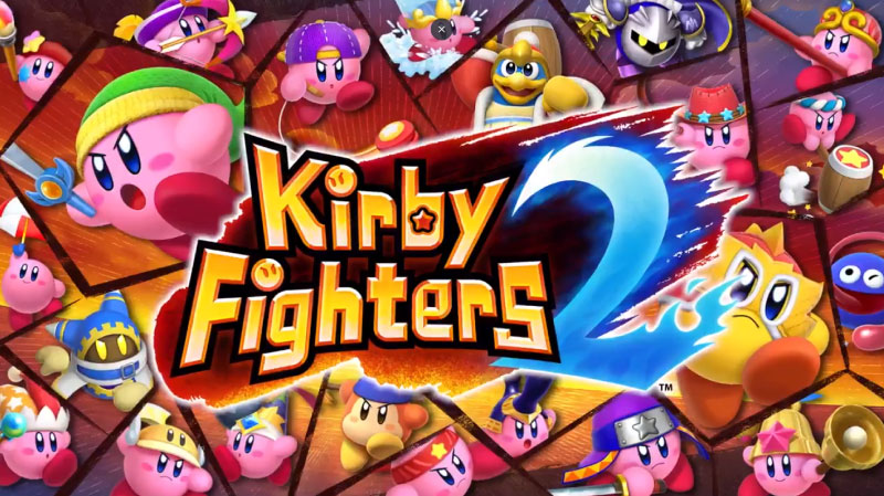 Kirby Fighters 2 ya está disponible para Nintendo Switch